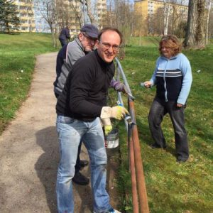 Ortsverein packt zum jährlichen Frühjahrsputz in Helbersdorf an