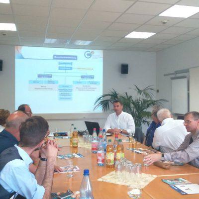 Stadthalle - Informationssitzung direkt vor Ort mit OV Kappel-Helbersdorf